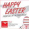 Altrad Belle opening times for the 2017 Easter period
