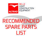 Ranger 450 Recommended Spare Parts List