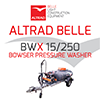 Altrad Belle - BWX 15/250 - Bowser Pressure Washer
